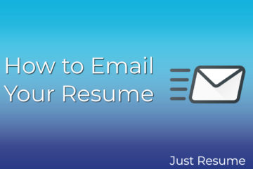 How to Email Your Resume