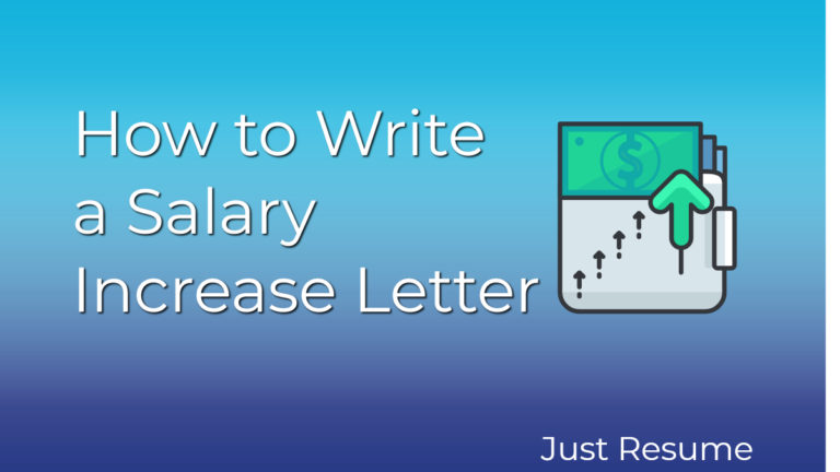 How to Write a Salary Increase Letter