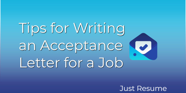 Tips for Writing an Acceptance Letter for a Job