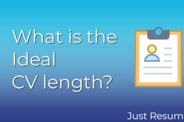 What is the Ideal CV length?