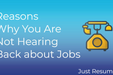 Reasons Why You Are Not Hearing Back about Jobs