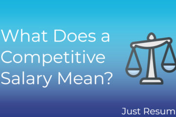 What Does a Competitive Salary Mean